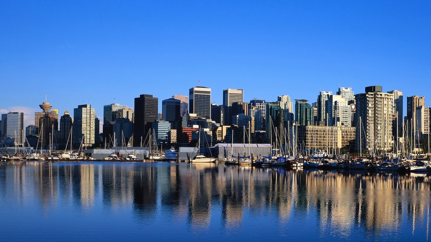 vancouver skyline wallpapers widescreen - photo #3